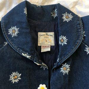 Vintage Guess Daisy Jean Jacket